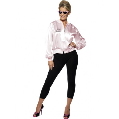 Blouson rose Pink Lady Grease adulte