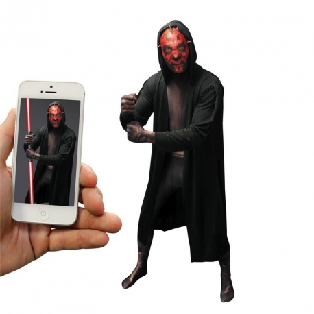 Seconde peau morphsuit Darth Maul digital adulte