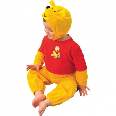 Costume bébé Winnie L'Ourson Licence Disney