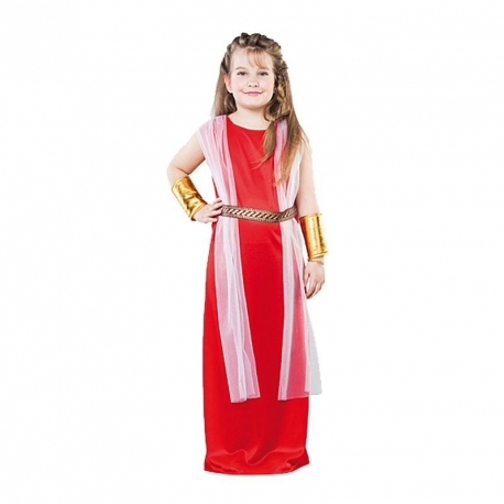 Costume fille romaine taille m 7/9 ans